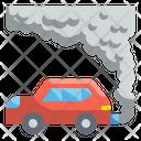 Car Pollution Air Pollution Smoke Icon