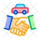 Car Purchase Deal Icon