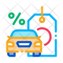 Car Purchase Interest Icon