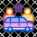 Car Quarrel Drivers Icon