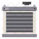 Car Heater Radiator Icon