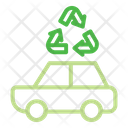 Vehicle Ecology Recycling Icon