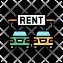 Car Rent Rent Car Icon