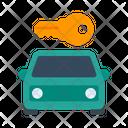 Auto Car Car Rental Icon