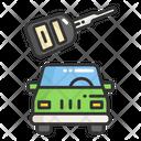 Car Rental Key Icon