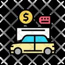 Car Rental Color Icon