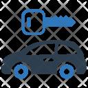 Auto Car Rental Icon