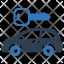 Car Rental Auto Icon
