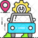 Car Repair Car Service Service Icon
