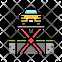 Car Repair Car Service Car Lift Icon