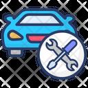 Car Repairing Maintenance Auto Repair Icon