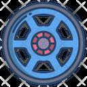 Car Rims Tire Rim Tire Plate Icon