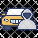 Car Robber Burglar Thief Icon