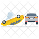 Car Roll Over Icon