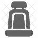 Car Seat Belt Icon