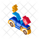 Car Auction Buying Icon