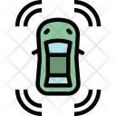 Sensor Parking Security Icon