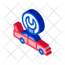 Car Restoration Crashed Icon