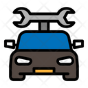 Car Service Wrench Icon