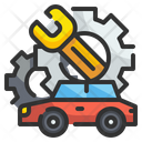 Car Service Maintenance Car Maintenance Icon