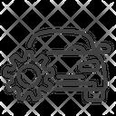 Car Service Workshop Car Workshop Icon