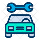 Automobile Garage Repair Icon