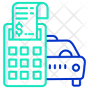 Car Service Bill Icon