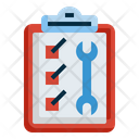 Car Service Checklist Icon