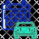 Car Service Date Icon