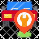 Pin Car Location Icon