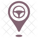 Car showroom place Icon