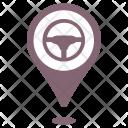 Drive Car Move Icon