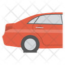 Car Back Car Side Back View Icon
