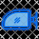 Car Side Mirror Icon