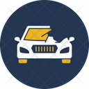 Car Side Wreck Icon