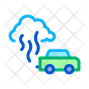 Car Smog Smoke Icon