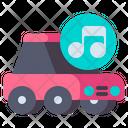 Car Speakers Icon
