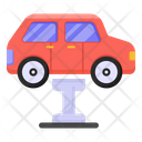 Vehicle Stand Car Stand Car Service Icon