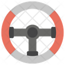 Car Steering Automobile Steering Driver Wheel Icon