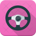 Car Steering Driving Icon