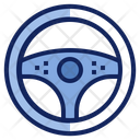 Car Steering Icon