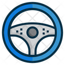 Isteering Wheel Vehicle Icon