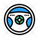Steering Drive Car Icon