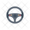Drive Steering Car Icon