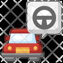 Car Steering Icon
