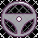 Car Steyring Wheel Icon
