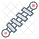 Suspension Spring Car Element Icon