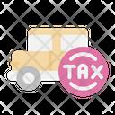 Car Tax Icon