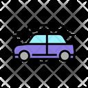 Car Aerodynamics Test Icon