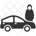 Car Vehicles Theft Icon